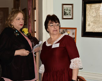 Photograph from the event honoring the founders of Women for Greater Philadelphia and their 40 year commitment to the organization