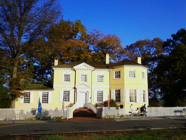 A photograph of Historic Laurel Hill Mansion Philadelphia Park House of which Women for Greater Philadelphia are Stewards